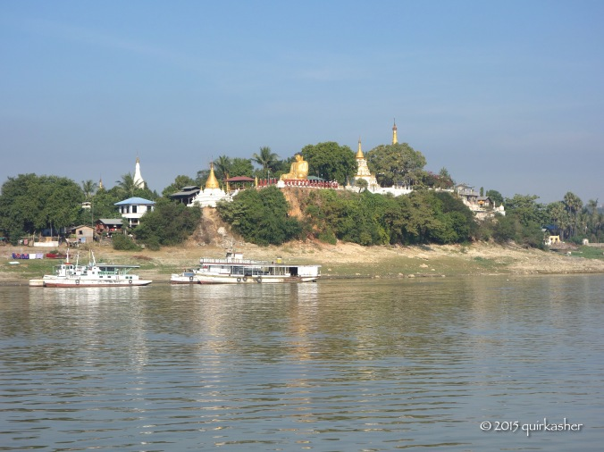 A temple in Sagaing