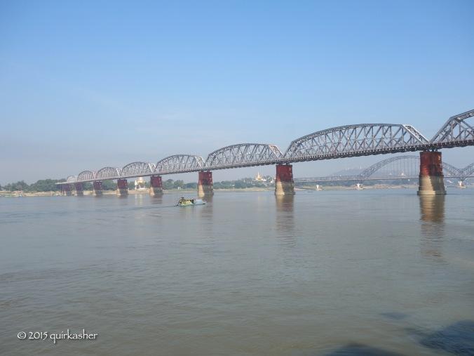 A bridge built by the British