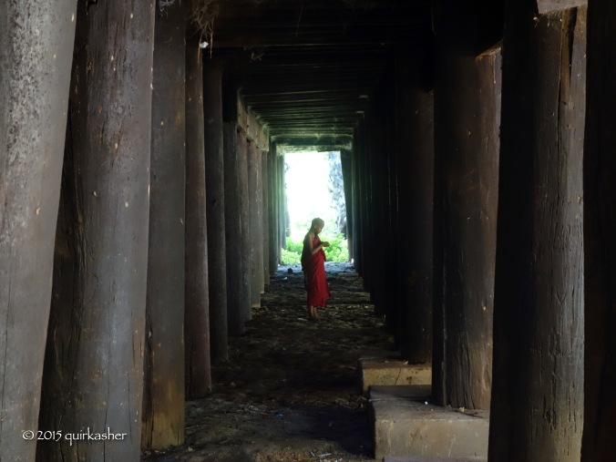 Under the monastery