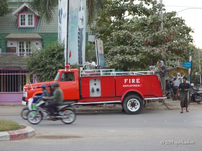 The local firemen