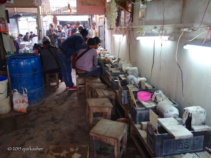 Jade polishing workshop
