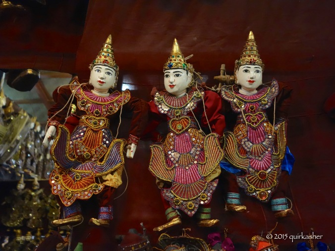 Burmese puppets