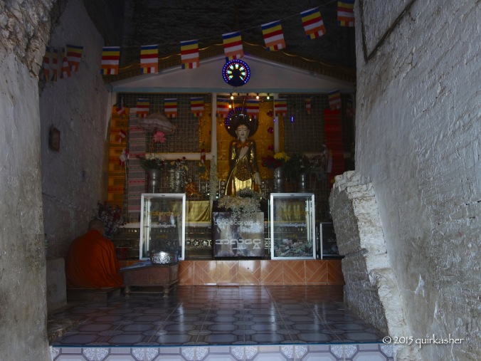 Shrine inside Mingun Pagoda