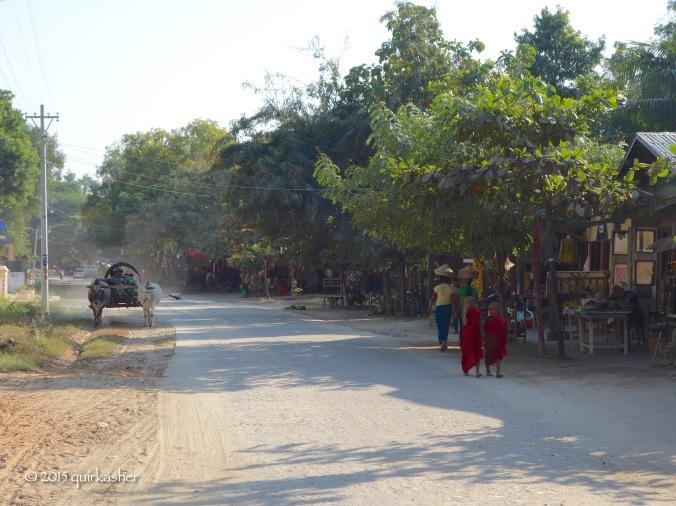 Mingun town