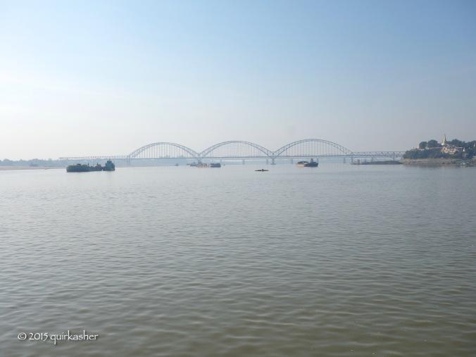 Along the Ayeyarwady
