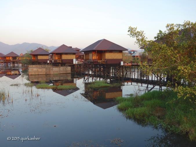 At the Shwe Inn Tha