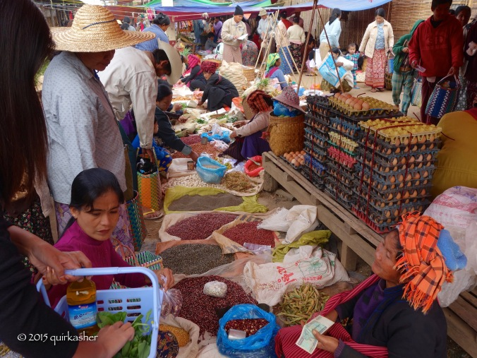 Exploring the local market