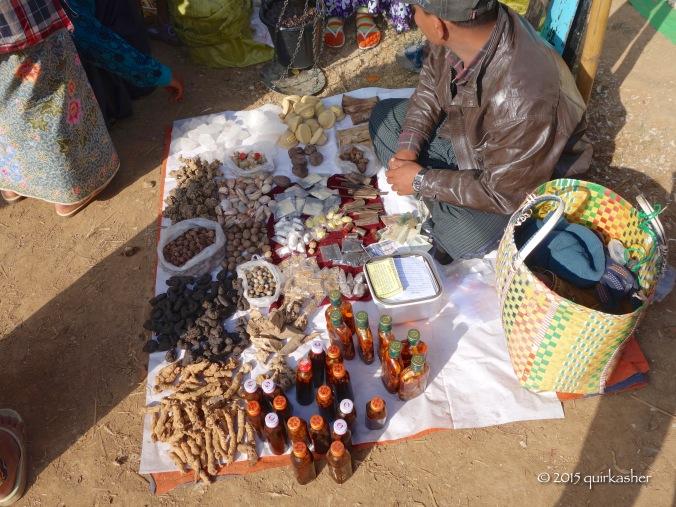Pharmacy of local medicines