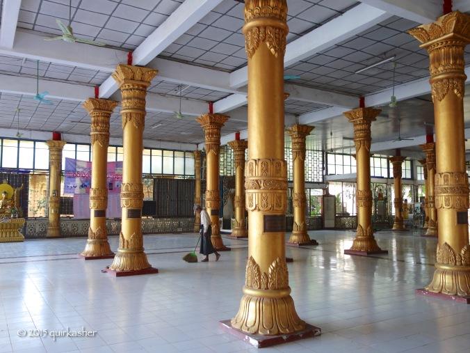 Pillars of Phaya Gyi Pagoda