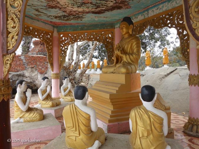 On the grounds of Guwa Pagoda