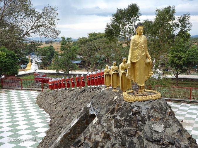 On the grounds of Mahamuni Pagoda
