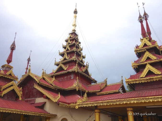 Roof of Mahamuni Pagoda