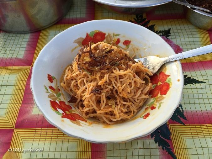 Rakhine noodle snack
