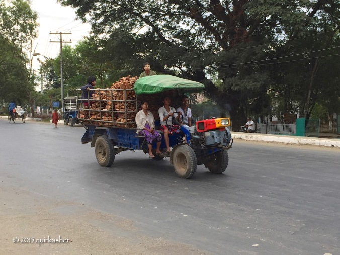Transporting thanaka