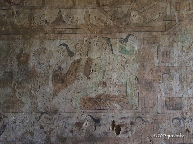 Wall paintings of Sulamani Temple