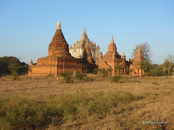 Some monuments of Bagan
