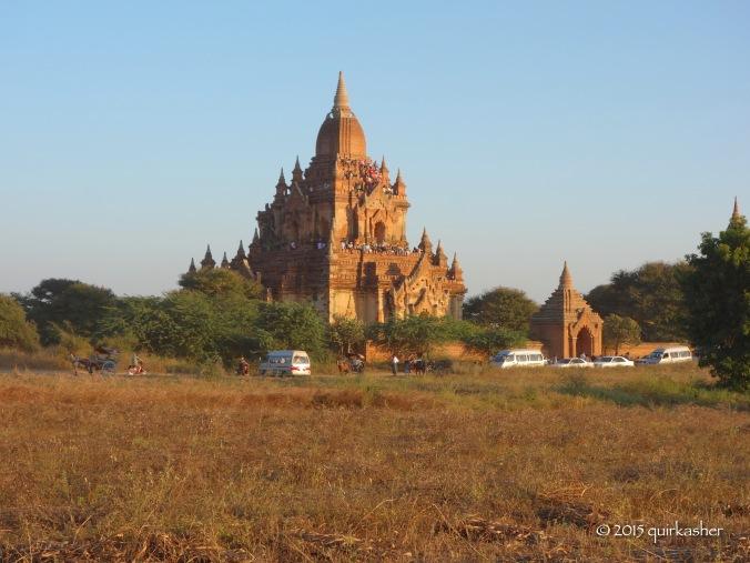 Overrun temple