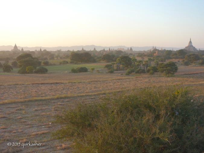 View over Bagan