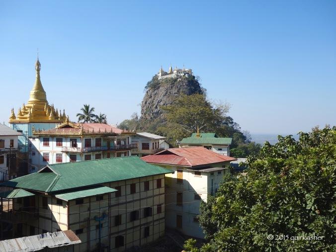 A view of Taung Kalat