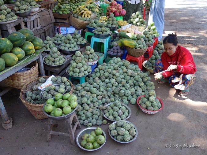 Custard apples in season
