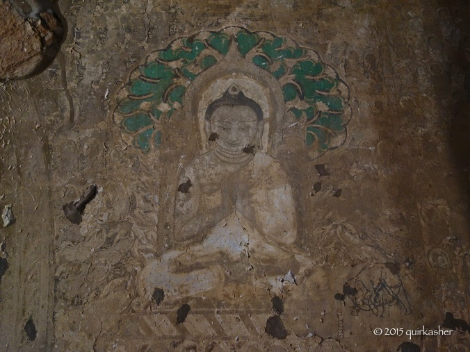 Wall painting in Tayoke Pyay Temple