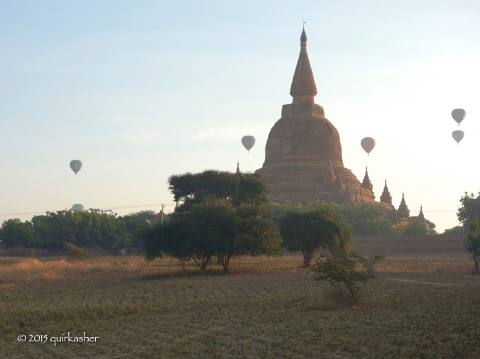 Bagan in the early morning