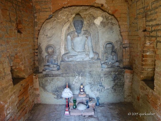 Inside Bei Bei Pagoda