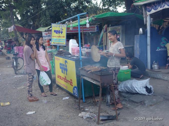BBQ stall