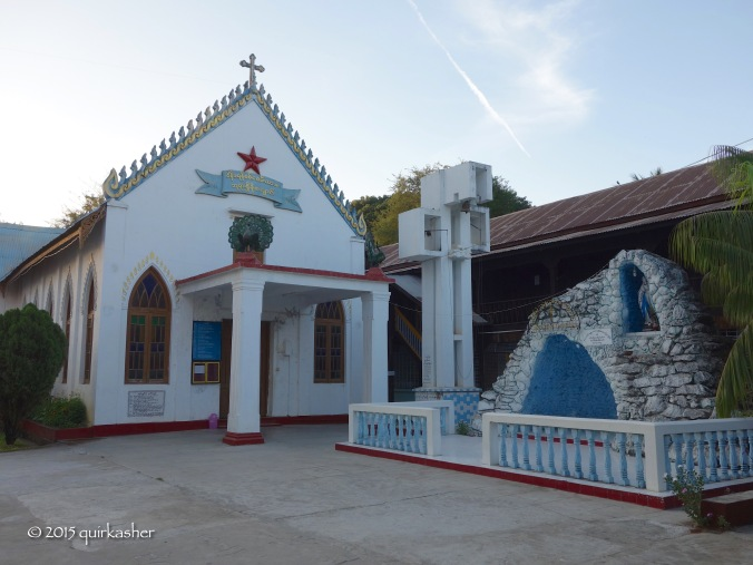 Catholic church in Pyay