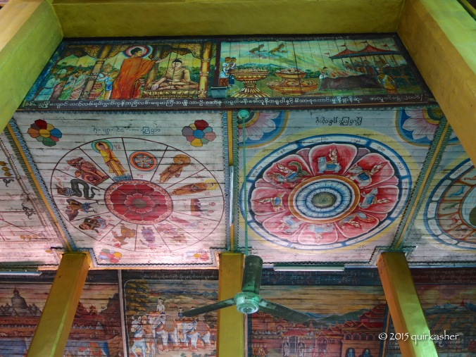 Wall paintings in Shitthaung Temple