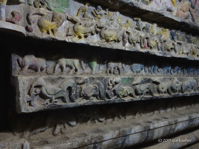 Wall Carvings in Shitthaung Temple