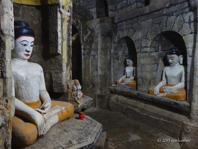 Inside Andaw Thein Temple