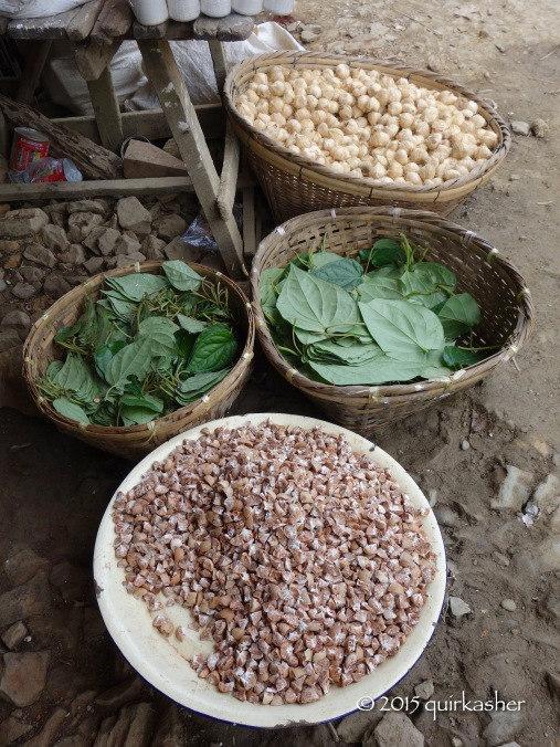 Betel leaves and nuts