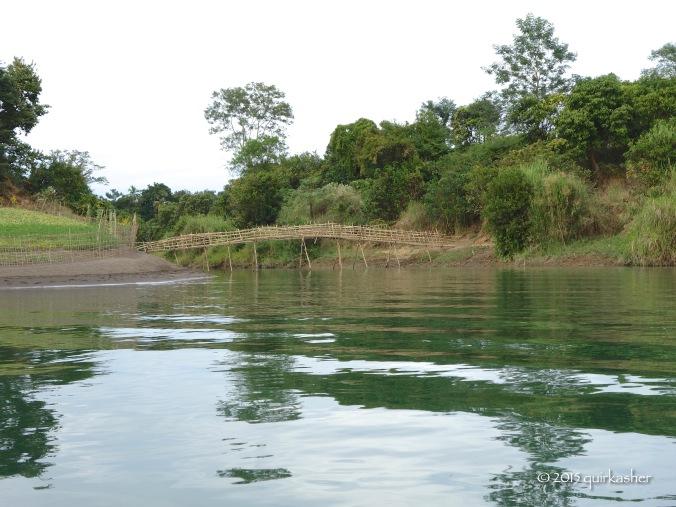 A bridge across a creek