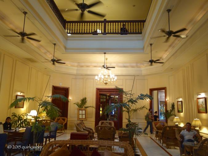 Lobby of the Strand Hotel