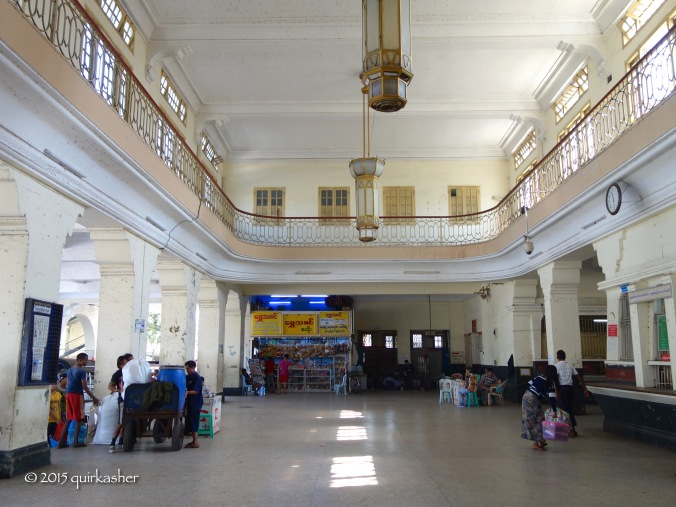 Main hall of the Central Railway Station
