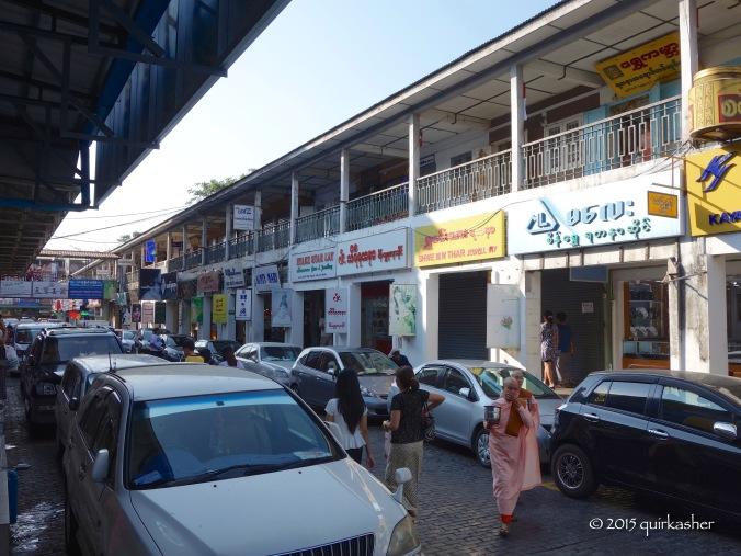 At Bogyoke Aung San Market