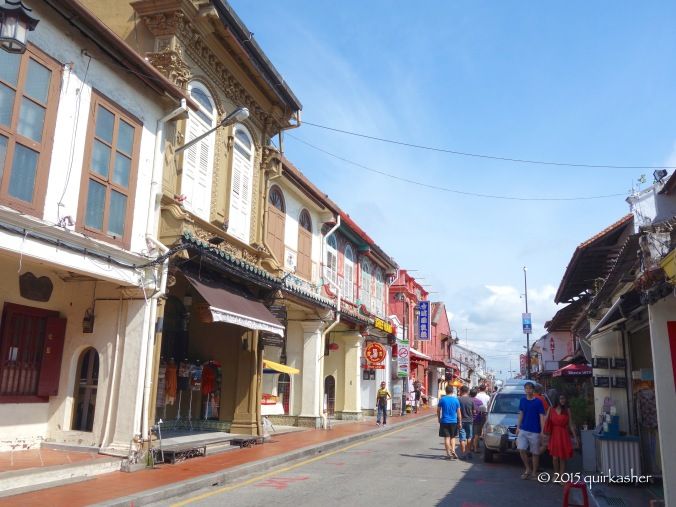 Jonker Street (without a trace of the night market)