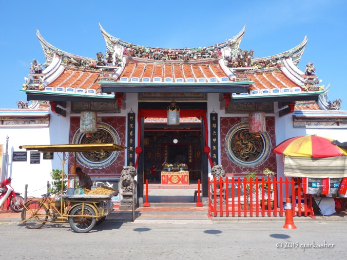 Cheng Hoon Teng Temple (apparently the oldest functioning temple in Malaysia according to Wikipedia)