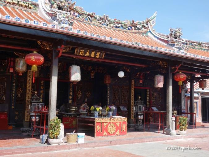 Inside Cheng Hoon Teng Temple