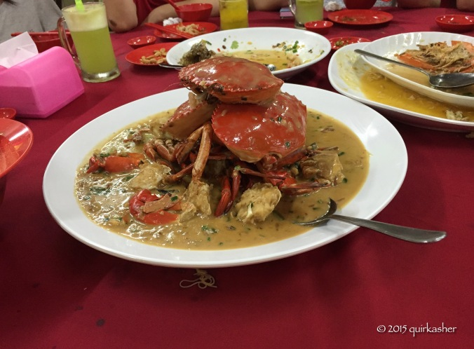 Buttermilk crab