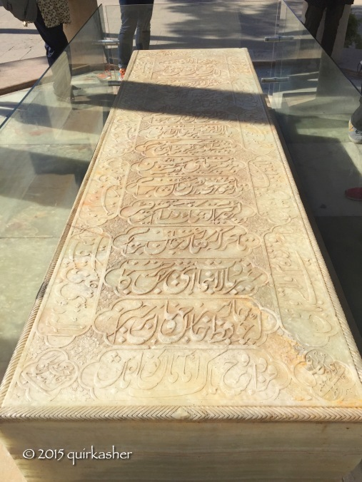 Hafez lies inside