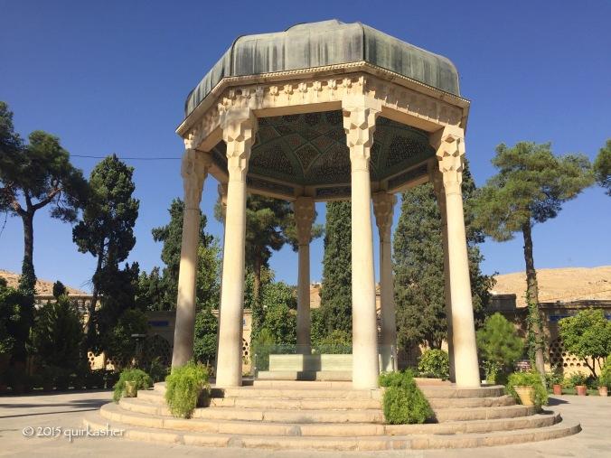 Hafez's tomb