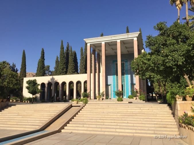Saadi's mausoleum