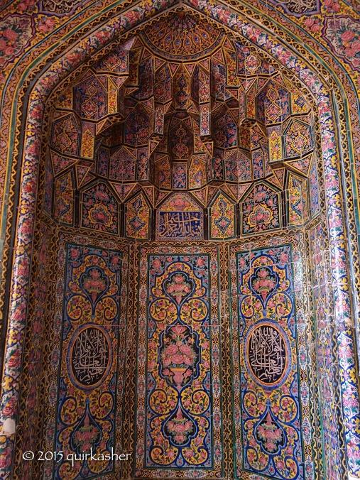 Mihrab of Nasir-ol-Molk Mosque