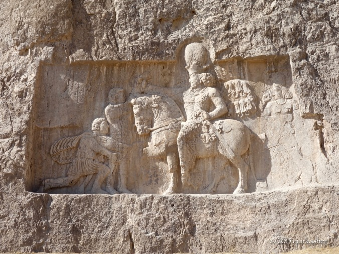 Victory of Shapur I over Roman emperors Gordian III, Valerian and Philip the Arab