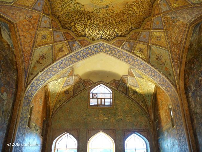 Interior walls of Chehel Sotoun