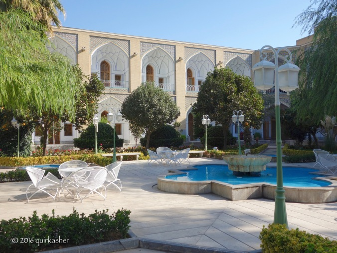 Courtyard of Abbassi Hotel