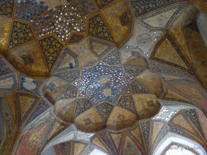 Ceiling of Hasht Behesht