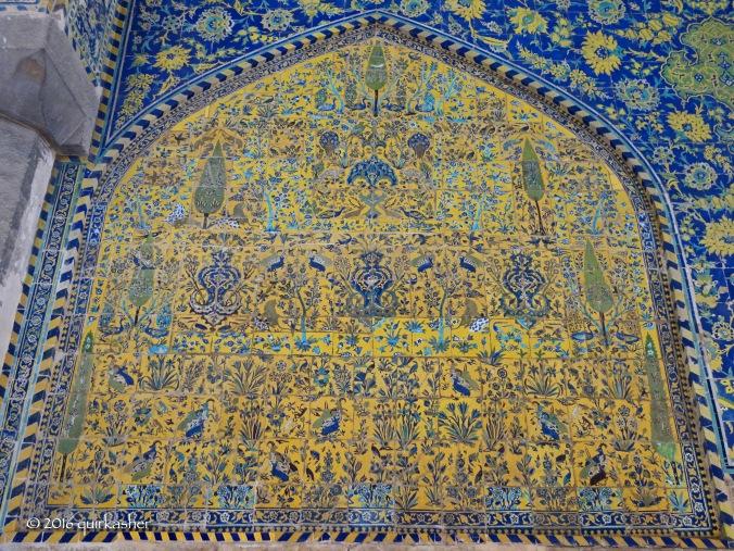 Mosaics of Imam Mosque